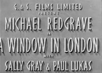 A Window in London 1940 DVD - Michael Redgrave / Sally Gray